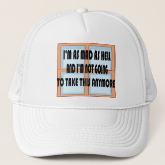 MAD AS HELL TRUCKER HAT