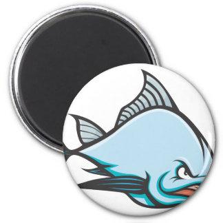Mad Atlantic Bluefin Tuna 2 Inch Round Magnet