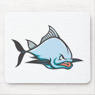 Mad Atlantic Bluefin Tuna Mouse Pad