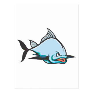 Mad Atlantic Bluefin Tuna Postcard