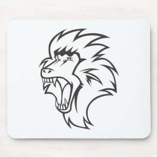 Mad Baboon Mouse Pads