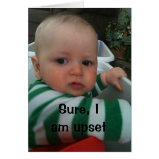 """MAD BABY SAYS UPSET FOR """"I MISS YOU!!!!!!' CARD"""