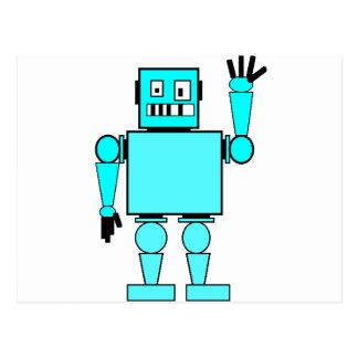 mad bad robot postcard