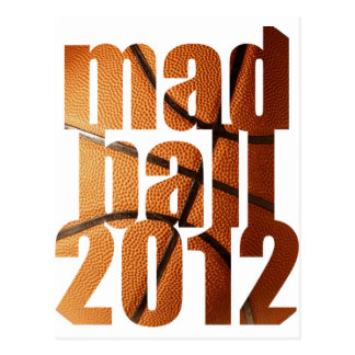 Mad Ball 2012 - March   Postcard