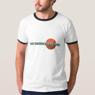 Mad Basketball Jock With Ball T-Shirt