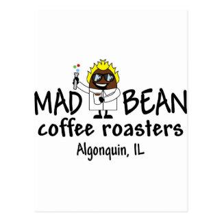 Mad Bean logo Postcard