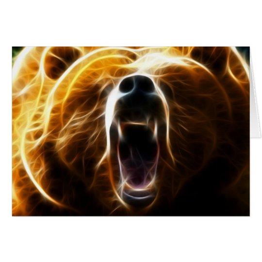 Mad Bear Card