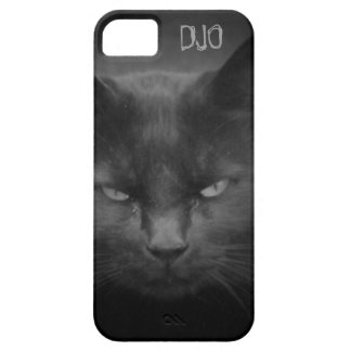 Mad Black Cat iPhone 5 Covers