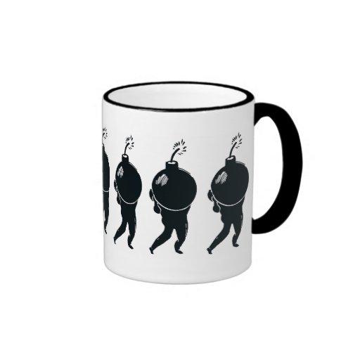 Mad Bomber Chorus Line Coffee Mug