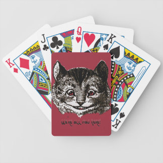 Mad Cat Bicycle Playing Cards