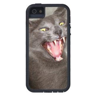 Mad cat iPhone 5 cover