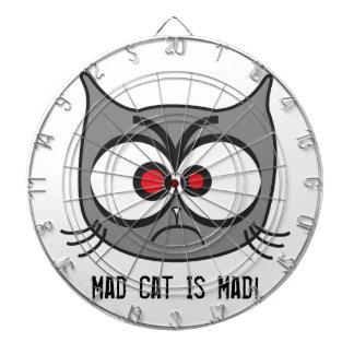 Mad Cat Is Mad! Dartboard