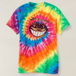 Mad Cat Smile by Aleta T-shirt