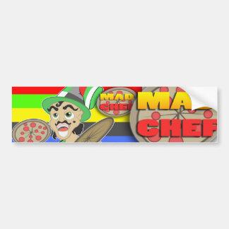 Mad Chef Car Bumper Sticker