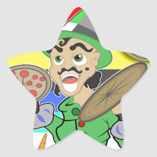 Mad Chef Star Sticker