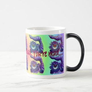 Mad Cheshire Cat Magic Mug