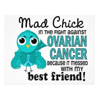 Mad Chick 2 Best Friend Ovarian Cancer Flyer