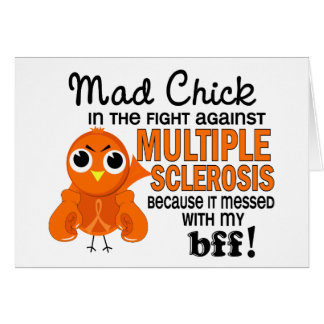 Mad Chick 2 BFF Multiple Sclerosis MS Cards