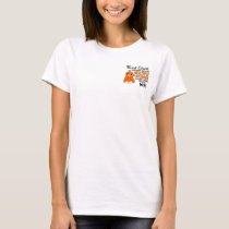 Mad Chick 2 BFF Multiple Sclerosis MS T-Shirt