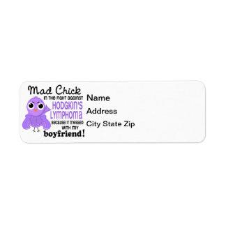Mad Chick 2 Boyfriend Hodgkin's Lymphoma / Disease Label