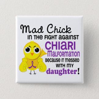 Mad Chick 2 Chiari Malformation Daughter Button