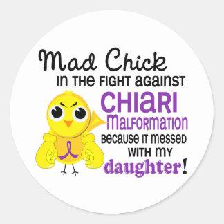 Mad Chick 2 Chiari Malformation Daughter Sticker