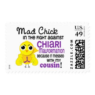 Mad Chick 2 Cousin Chiari Malformation Stamp