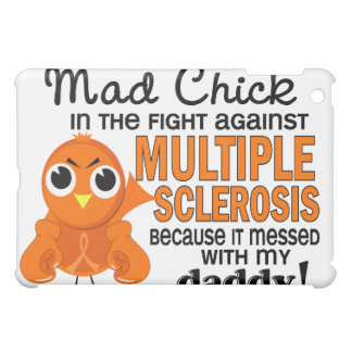 Mad Chick 2 Daddy Multiple Sclerosis MS Cover For The iPad Mini
