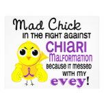 Mad Chick 2 Evey Chiari Malformation Custom Flyer