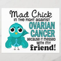 Mad Chick 2 Friend Ovarian Cancer