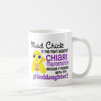 Mad Chick 2 Granddaughter Chiari Malformation Coffee Mug