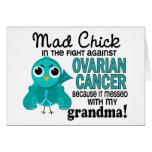 Mad Chick 2 Grandma Ovarian Cancer Cards