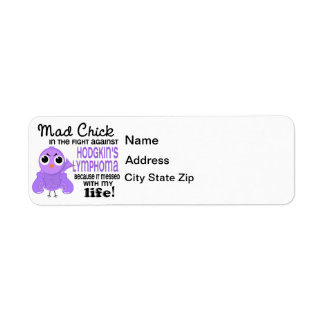 Mad Chick 2 Me Hodgkin's Lymphoma / Disease Label