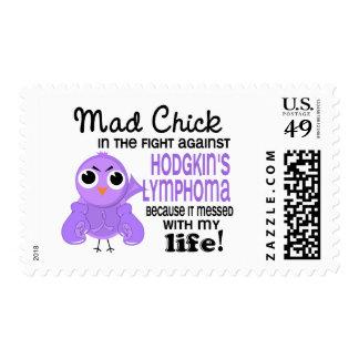 Mad Chick 2 Me Hodgkin's Lymphoma / Disease Postage