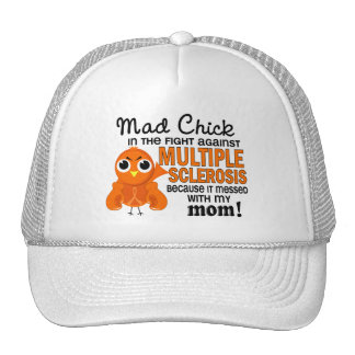 Mad Chick 2 Mom Multiple Sclerosis MS Hats