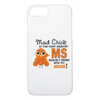 Mad Chick 2 Mom Multiple Sclerosis MS iPhone 8/7 Case