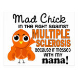 Mad Chick 2 Nana Multiple Sclerosis MS Post Cards
