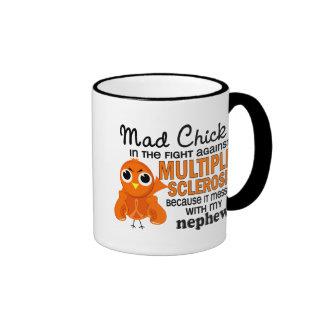 Mad Chick 2 Nephew Multiple Sclerosis MS Ringer Coffee Mug