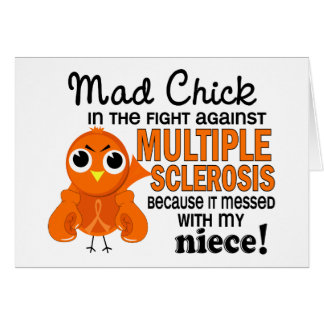 Mad Chick 2 Niece Multiple Sclerosis MS Card