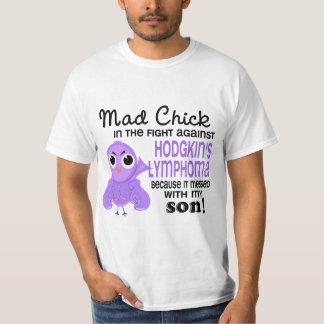 Mad Chick 2 Son Hodgkin's Lymphoma / Disease T-Shirt