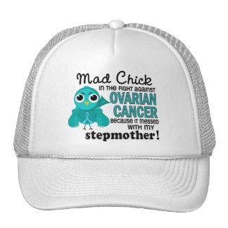 Mad Chick 2 Stepmother Ovarian Cancer Trucker Hat