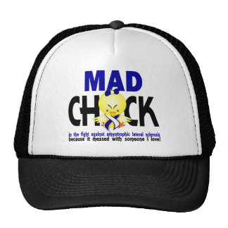 Mad Chick Amyotrophic Lateral Sclerosis Hats