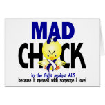 Mad Chick In The Fight ALS Cards