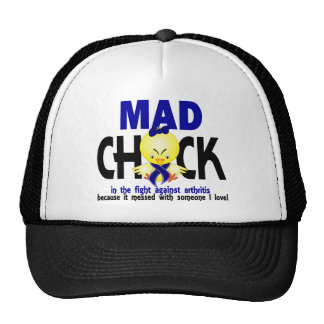 Mad Chick In The Fight Arthritis Mesh Hat