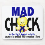 Mad Chick In The Fight Arthritis Mousepad