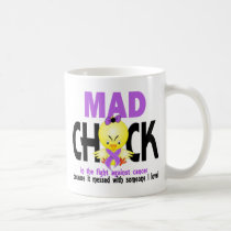 Mad Chick In The Fight Cancer Coffee Mug