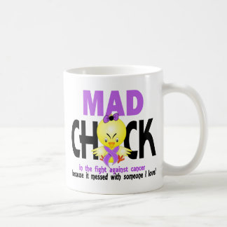 Mad Chick In The Fight Cancer Mugs