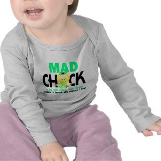 Mad Chick In The Fight Celiac Disease Tshirts
