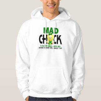 Mad Chick In The Fight Cerebral Palsy Hoodie