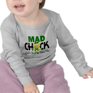 Mad Chick In The Fight Cerebral Palsy T-shirts